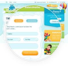 Kids Portal - Website Design