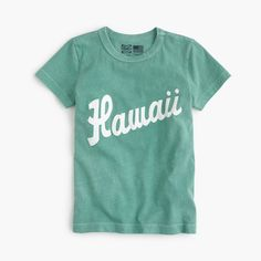 Adorned with vintage team logos from the baseball aficionados at Ebbets Field Flannels (est. 1988), these special made-in-the-USA styles are a total home run. Bonus: This cool Hawaii Islanders graphic is just like Dad's. Cotton. Machine wash. Made in the USA.