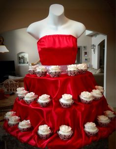 Hey, I found this really awesome Etsy listing at https://www.etsy.com/listing/207559034/rose-red-couture-cupcake-stand