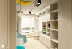 APARTAMENT NA GOCŁAWIU 120 m2 - Mały pokój dziecka dla chłopca dla ucznia dla nastolatka, styl nowoczesny - zdjęcie od design me too
