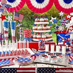 Fourth of july decoration ideas patriotic dessert table of july decorating ideas on a budget . fourth of july decoration Fourth Of July Food, 4th Of July Celebration, 4th Of July Party, July 9th, Patriotic Desserts, Patriotic Party, Patriotic Crafts, Memorial Day, 4. Juli Party