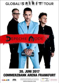 Plakat - Depeche Mode | Frankfurt 2017