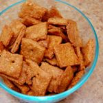 Homemade Cheese Crackers - taste just like cheez-its but a little thicker. The best homemade cracker I've made yet.