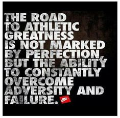 Road to Athletic Greatness  http://allnaturalnutritionbykrista.wordpress.com