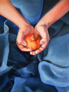 "Saatchi Art Artist Aleksandra Kalisz; Painting, ""Lust (Pomegranade) sketch"" #art"