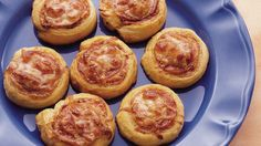 Get on a roll and make easy snacks using refrigerated crescent rolls!
