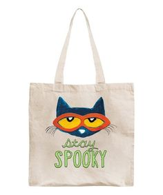 $10.99 Pete The Cat 'Stay Spooky' Tote on #zulily! #zulilyfinds