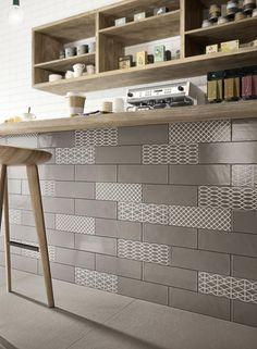 Brick Glossy – rivestimenti in ceramica per cucina ragno
