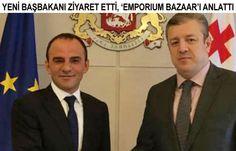 Galip Öztürk'ten Gürcistan'da yeni dev proje - İşadamı Öztürk, Gürcistan'ın yeni Başbakanı Kvirikashvili'yi ziyaret etti, Batum\'da yapmayı hedefledikleri 'Emporium Bazaar- Türk Pazarı'nı anlattı\r\n