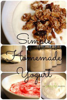 a simple real food recipe :: simple homemade yogurt by theSIMPLEmoms, via Flickr