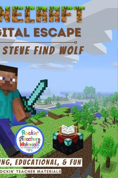 Interactive Learning, Kids Learning, Date Night Gifts, Minecraft Tutorial, Context Clues, New School Year, Going Back To School, Escape Room, Upper Elementary