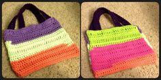 Multicolored purse