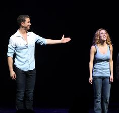 Ghost Opening Night: Richard Fleeshman & Caissie Levy
