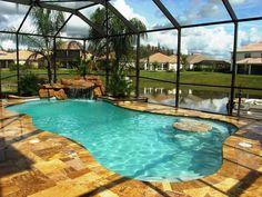 Love this look....Exclusive Pools Custom Pool Gallery