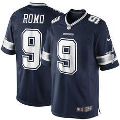 Tony Romo Dallas Cowboys Nike Team Color Limited Jersey - Navy Blue - $149.99