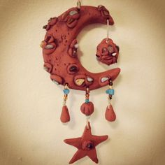 Sale Item  Crescent moon dream catcher by thisthatandthese on Etsy, $27.00