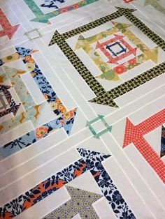 Nested Churn Dash Tip and Hints 1 and guest blogger Carrie Nelson - Want it, Need it, Quilt!