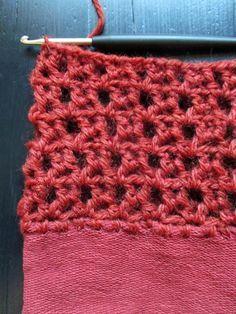 omⒶ KOPPA: Terracotta sping jacket - Border of the sleeve