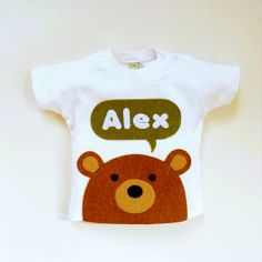 21 alternative easter gifts for babies and toddlers babycentre personalized baby bear organic t shirt 3 6 months 6 12 negle Images