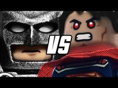Wanna see BATMAN v SUPERMAN in LEGO? | Warped Factor - Words in the Key of Geek.