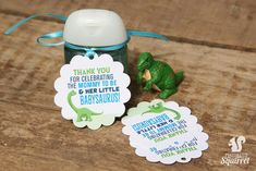 Thank You for Celebrating the Mommy to Be and Her Little Babysaurus Tags, Perfect for Baby Showers, - List of the most beautiful baby products Baby Shower Thank You Gifts, Baby Shower Favors, Baby Shower Parties, Baby Shower Themes, Baby Boy Shower, Baby Shower Decorations, Baby Shower Invitations, Baby Gifts, Baby Showers