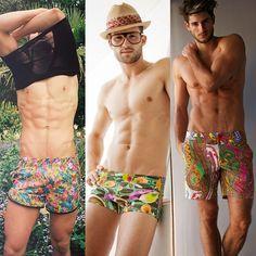 Mantenha o estilo no verão, saiba o que vestir Men With Street Style, Summer Boy, Man Swimming, Male Physique, Male Body, Bodies, Beautiful Men, Beautiful Pictures, Male Models