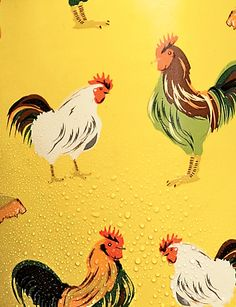 Building A Portable Chicken Coop Most people probably prefer a static chicken coop but there are times where a portable chicken coop is necessary. Chicken Painting, Chicken Art, Chicken Runs, Chicken Coops, Urban Chickens, Chickens And Roosters, Garden Animals, Farm Animals, Rooster Painting