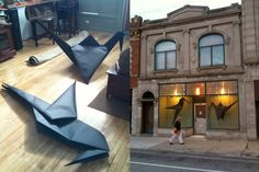 15 Giant Origami Installations That Will Amaze You
