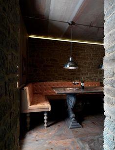 kleine zimmerrenovierung food design banquette, the 124 best cafe design images on pinterest   sandwich bar, Innenarchitektur