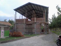 Awal mula gedung serbaguna