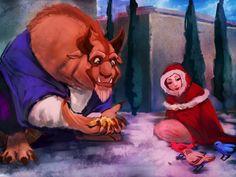 Beauty and the Beast by moni158 on deviantART | Beauty and the Beast | Walt Disney Animation Studios