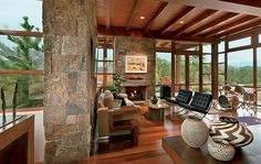 25 Distinctive Fireplaces : Architectural Digest