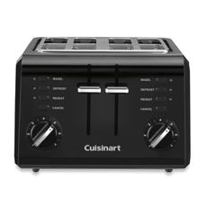 Cuisinart® Black Compact Cool-Touch 4-Slice Toaster - Bed Bath & Beyond  ...$49.99