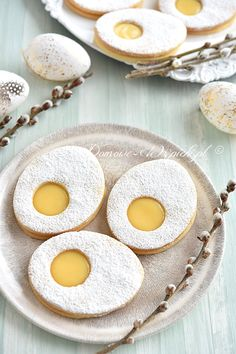 Desserts Ostern, Cake Fillings, Polish Recipes, Easter Cookies, Recipes From Heaven, Easter Recipes, Yummy Cakes, Love Food, Sweet Recipes