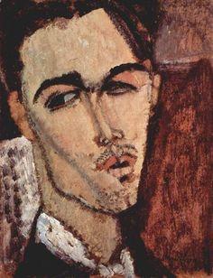 "Amedeo Modigliani (1884-1920), ""Portrait of Celso Lagar"""