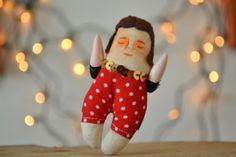 Romano / pequeño / muñeco miniatura / handmade por Mandarinasdetela