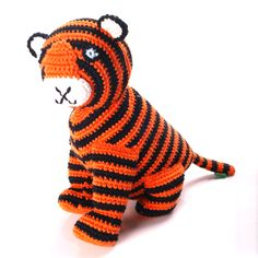 Bengal Tiger soft toy by Pebble