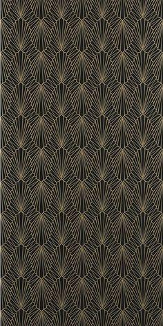 Most up-to-date Photos Pattern Design - Cabaret Wallpaper Lacquer 882 by Catherine Martin by Mokum - CoDesign Magazine Wallpaper Texture, Art Deco Wallpaper, Pattern Wallpaper, Motif Art Deco, Art Deco Design, Invitaciones Art Deco, Textile Patterns, Print Patterns, Art Nouveau