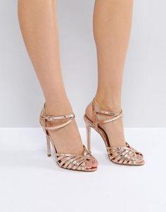 a58fda47985a ASOS HONEYPIE Heeled Sandals Prom Heels