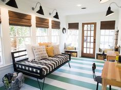 Chip and Joanna Gaines help a single foster-mom — and first-time homebuyer — update a quaint 1940 cottage, giving it a fresh and exuberant look that reflects the homeowner's personal style. From the experts at HGTV.com.