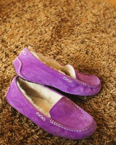 UGG Australia's suede driving moccasin for women - the Ansley