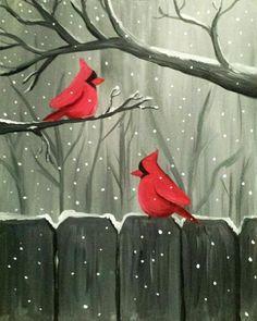 Paint Nite Wilmington | Santa Fe Wilmington Thursday December 17 …