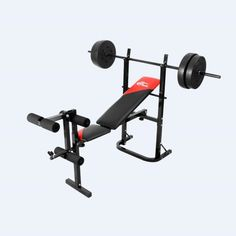 Home Exercise Equipment Weight Lifting Bench Leg Press Machine Body Building New #ad