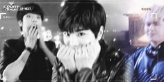 Infinite, Hoya doesn't approve but I approve...Sungjong you are just too adorable I love you.