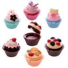 Cup-cake lip gloss: love them!