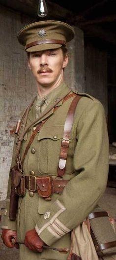 War Horse- Benedict Cumberbatch as Major Jamie Stewart