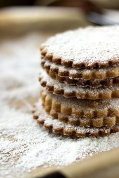 Dusted Shortbread