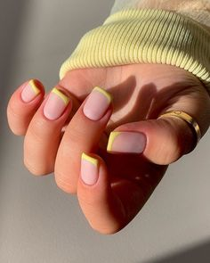 Short Nail Manicure, Manicure E Pedicure, Best Acrylic Nails, Almond Acrylic Nails, Aycrlic Nails, Hair And Nails, Gorgeous Nails, Pretty Nails, Fire Nails