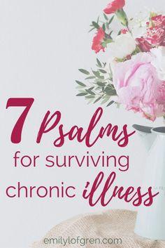 Chronic Illness   Lyme Disease   Psalms   Prayer