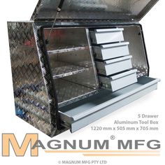 1220x505x705mm Heavy Duty Aluminium Toolbox Ute Truck Tool Box Storage 5 Drawers in Vehicle Parts & Accessories, Automotive Tools & Supplies, Auto Tool Boxes & Storage | eBay!